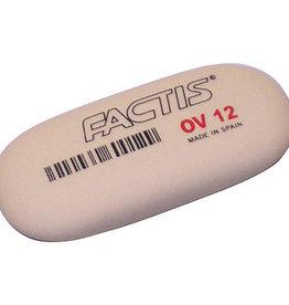 Erasers Factis Soft Oval Erasers