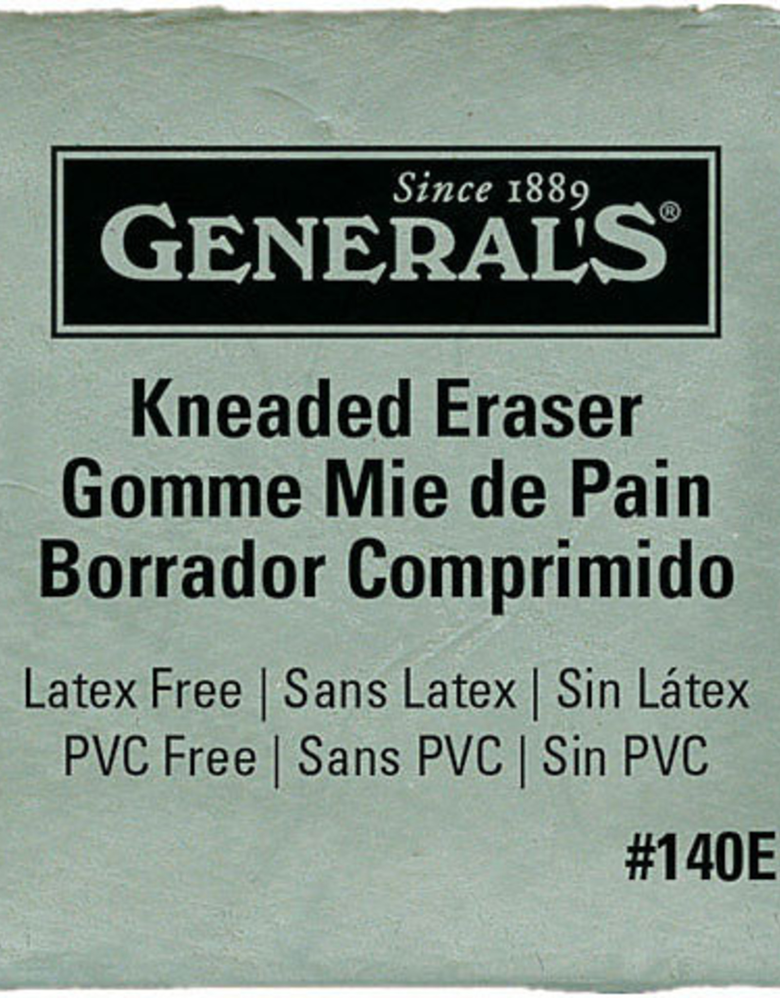 Erasers General's Jumbo Kneaded Eraser
