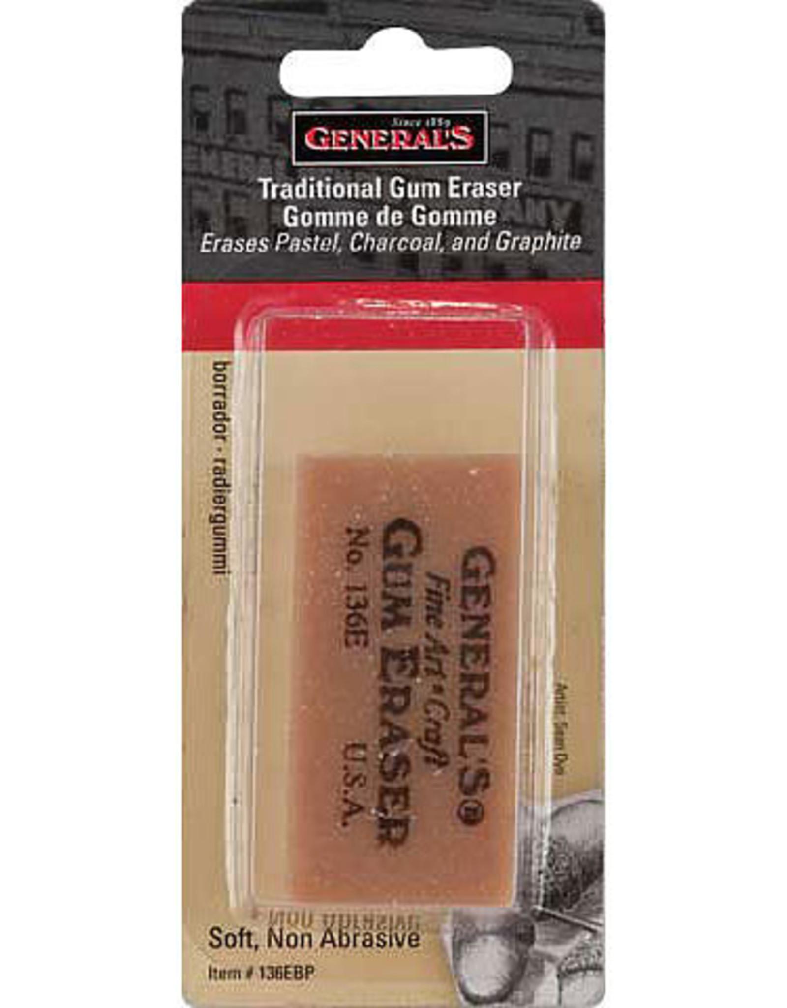 Erasers General's Gum Eraser