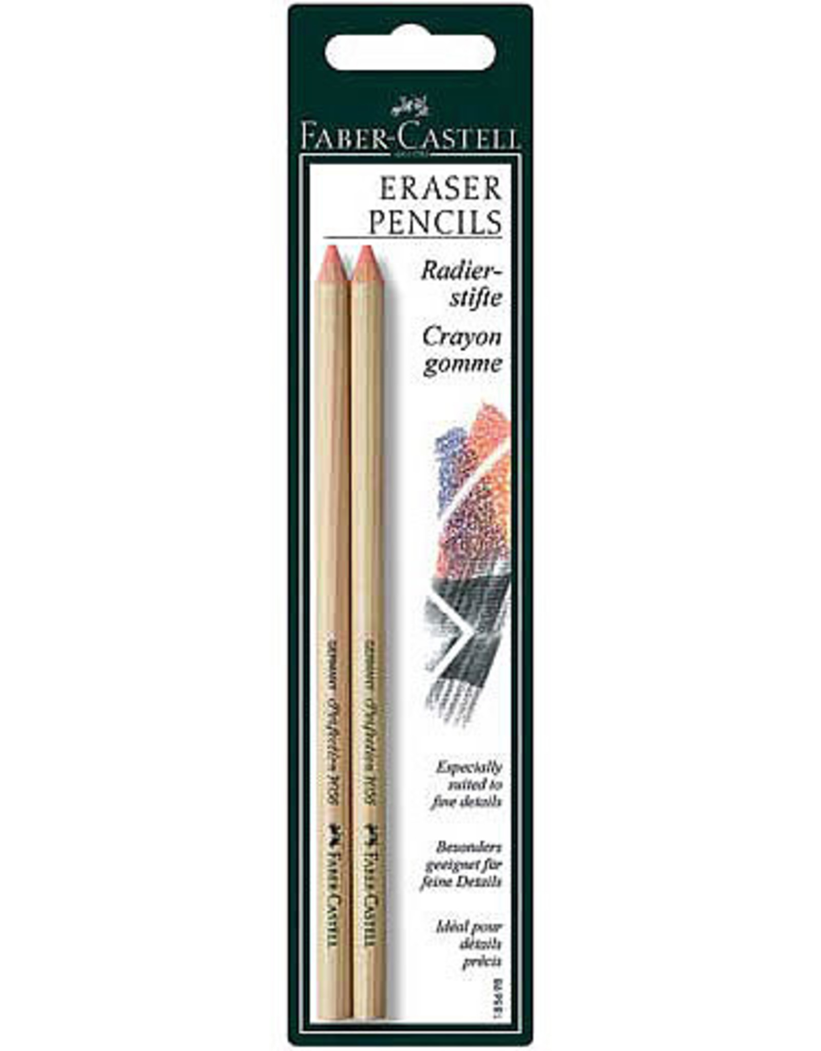 Erasers Faber - Castell Soft Eraser Pencils 2 pack
