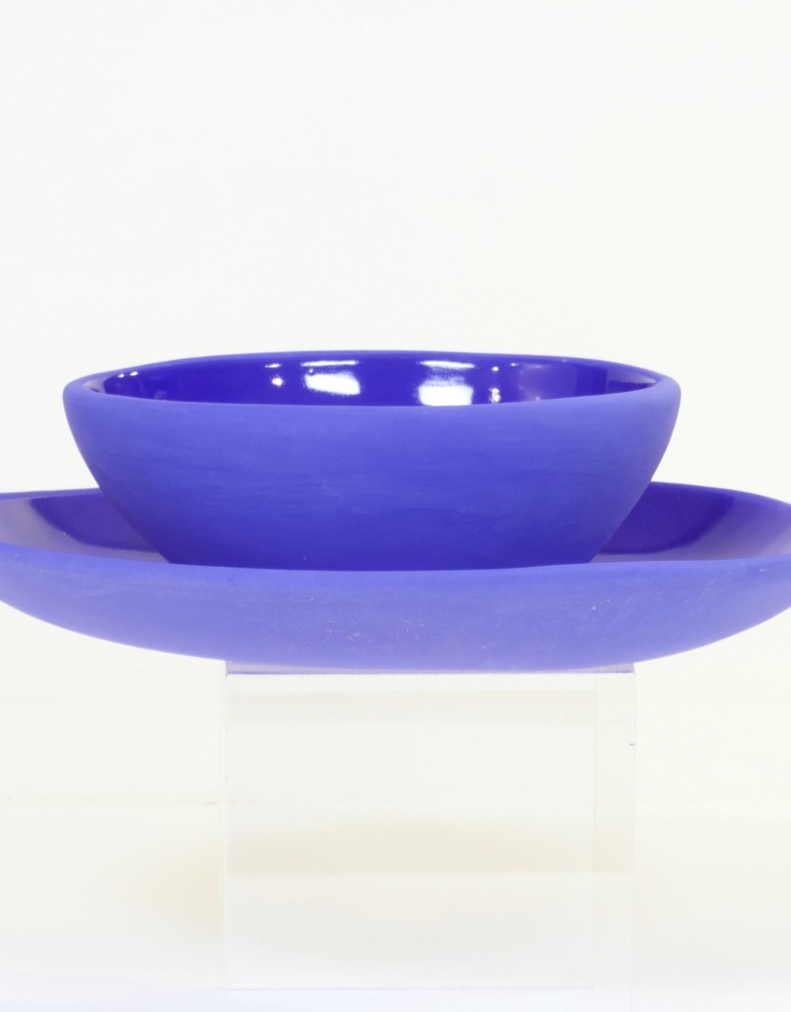 Louise Deroualle Blue Plate