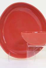 Louise Deroualle Large Red Open Bowl