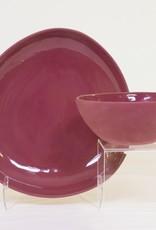Louise Deroualle Maroon Plate