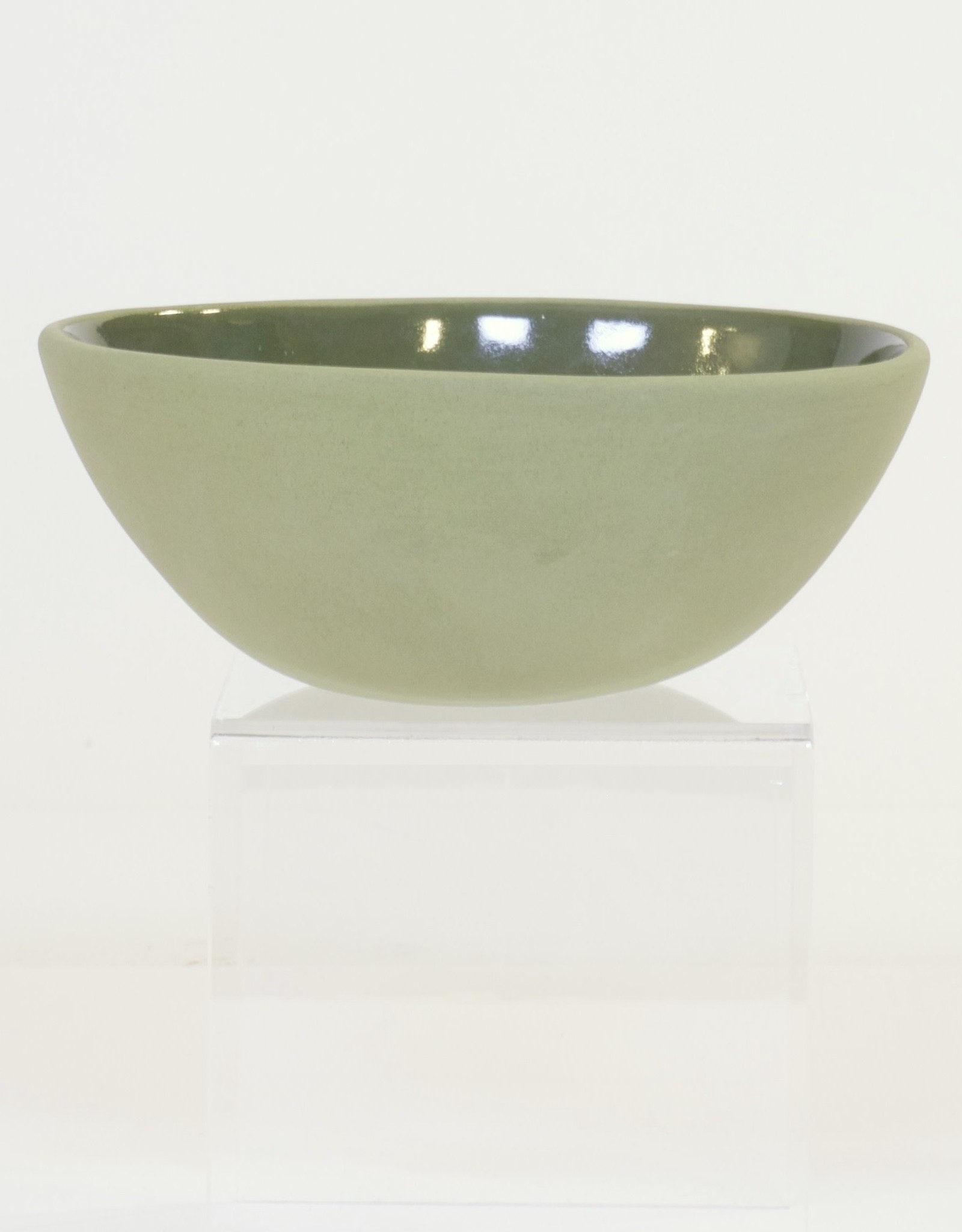 Louise Deroualle Olive Green Small Bowl