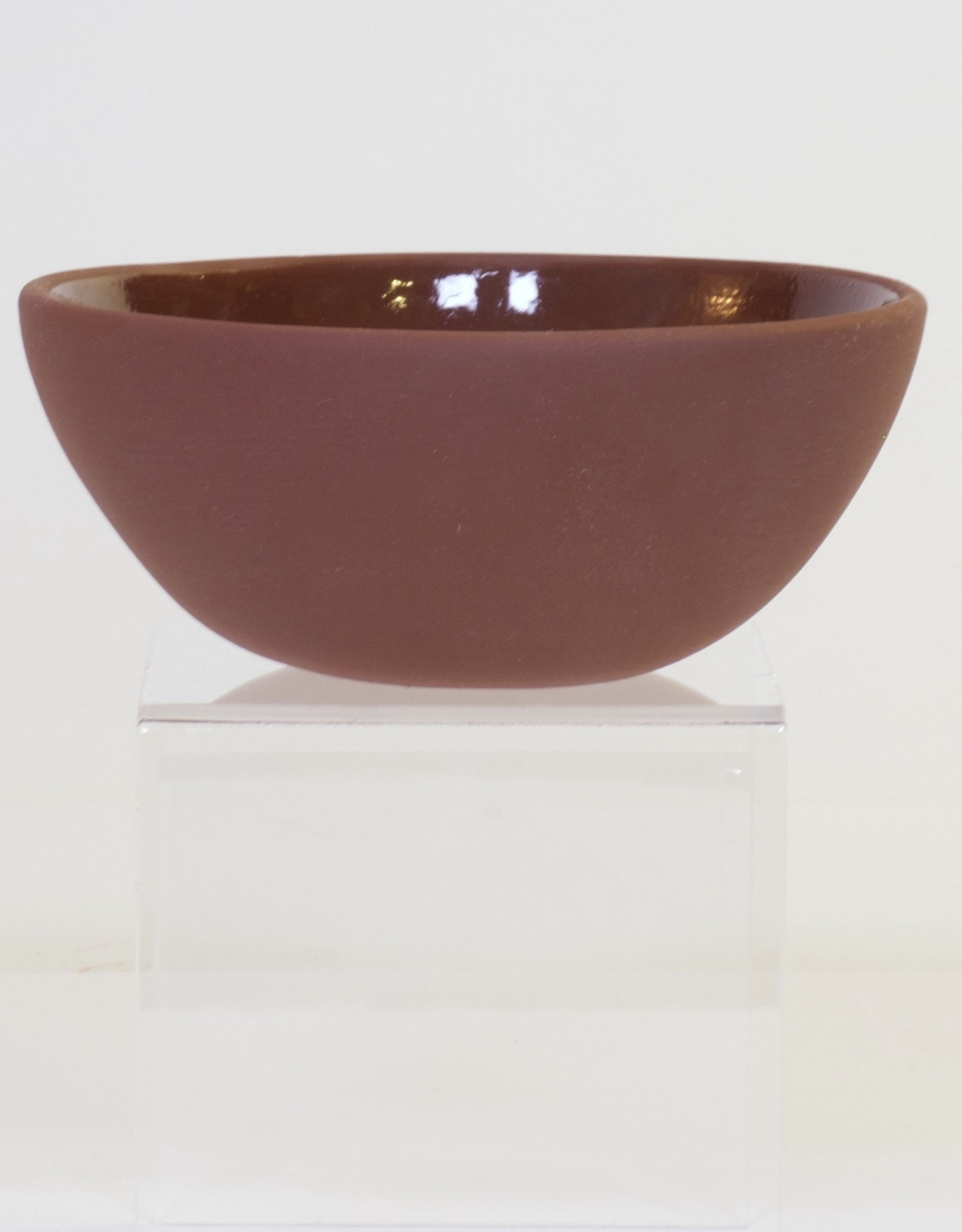 Louise Deroualle Deep Brown Small Bowl