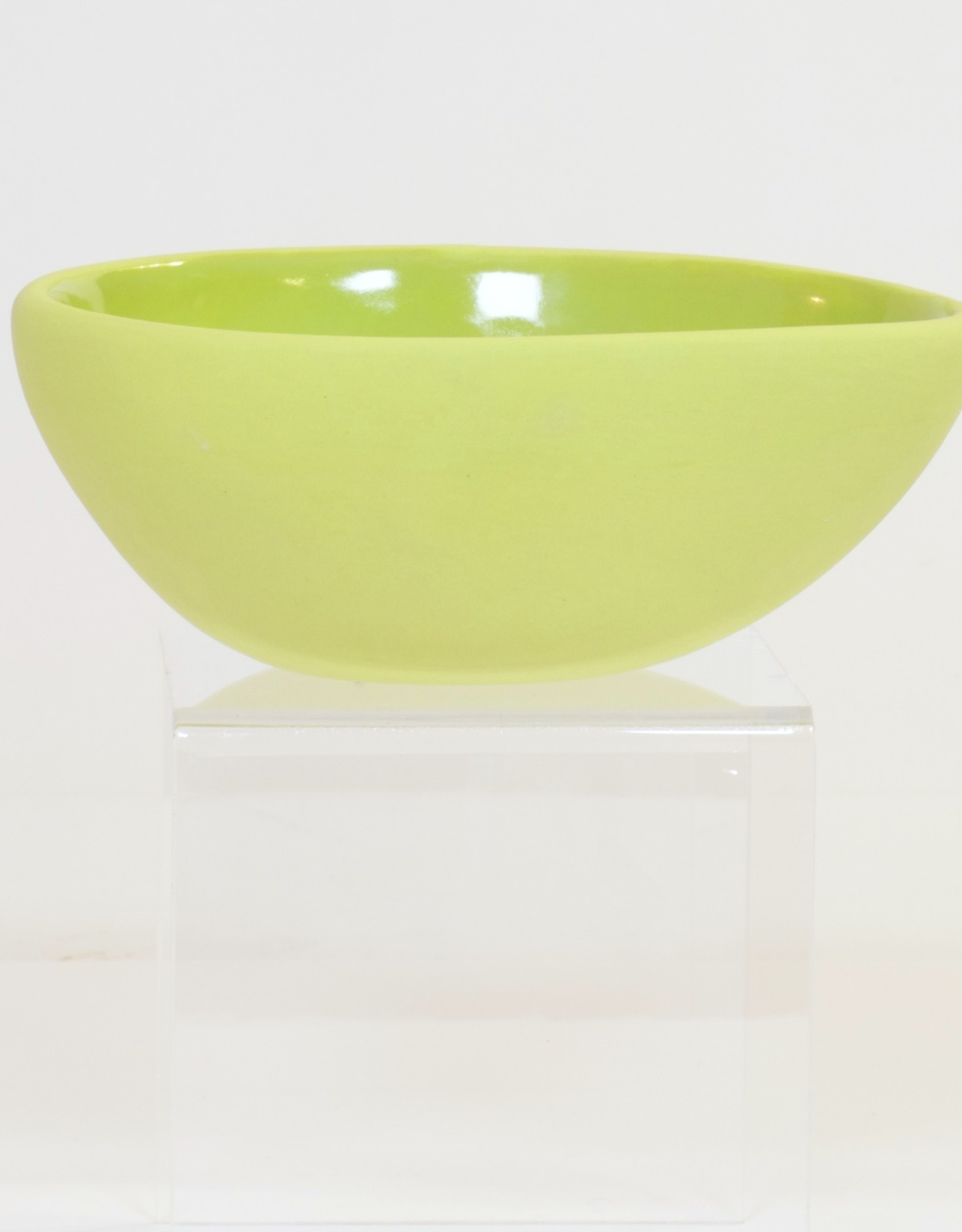 Louise Deroualle Lime Green Small Bowl