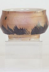Bradley Walters Warm Brown with Black Boarder Design Bowl