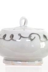Bradley Walters Ceramic Blue Jar