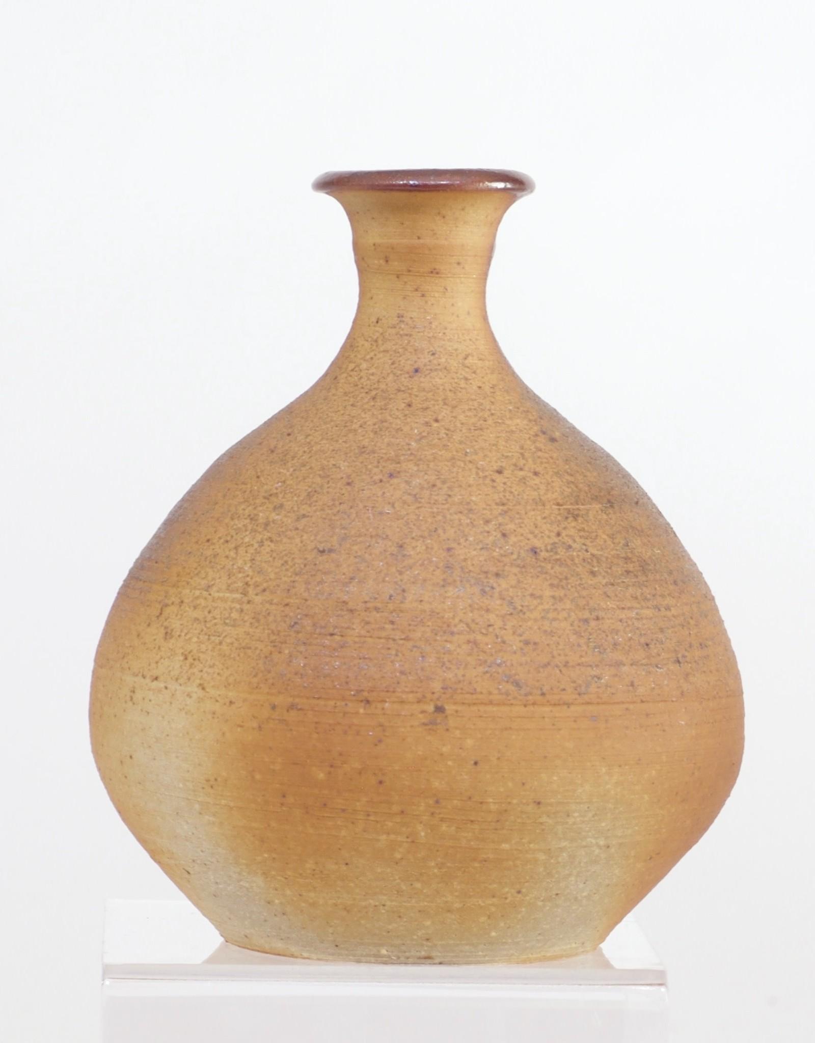 Bradley Walters Brown Rough Textured Small Vase