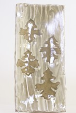 Doug Casebeer Long Platter with Oak Leaves