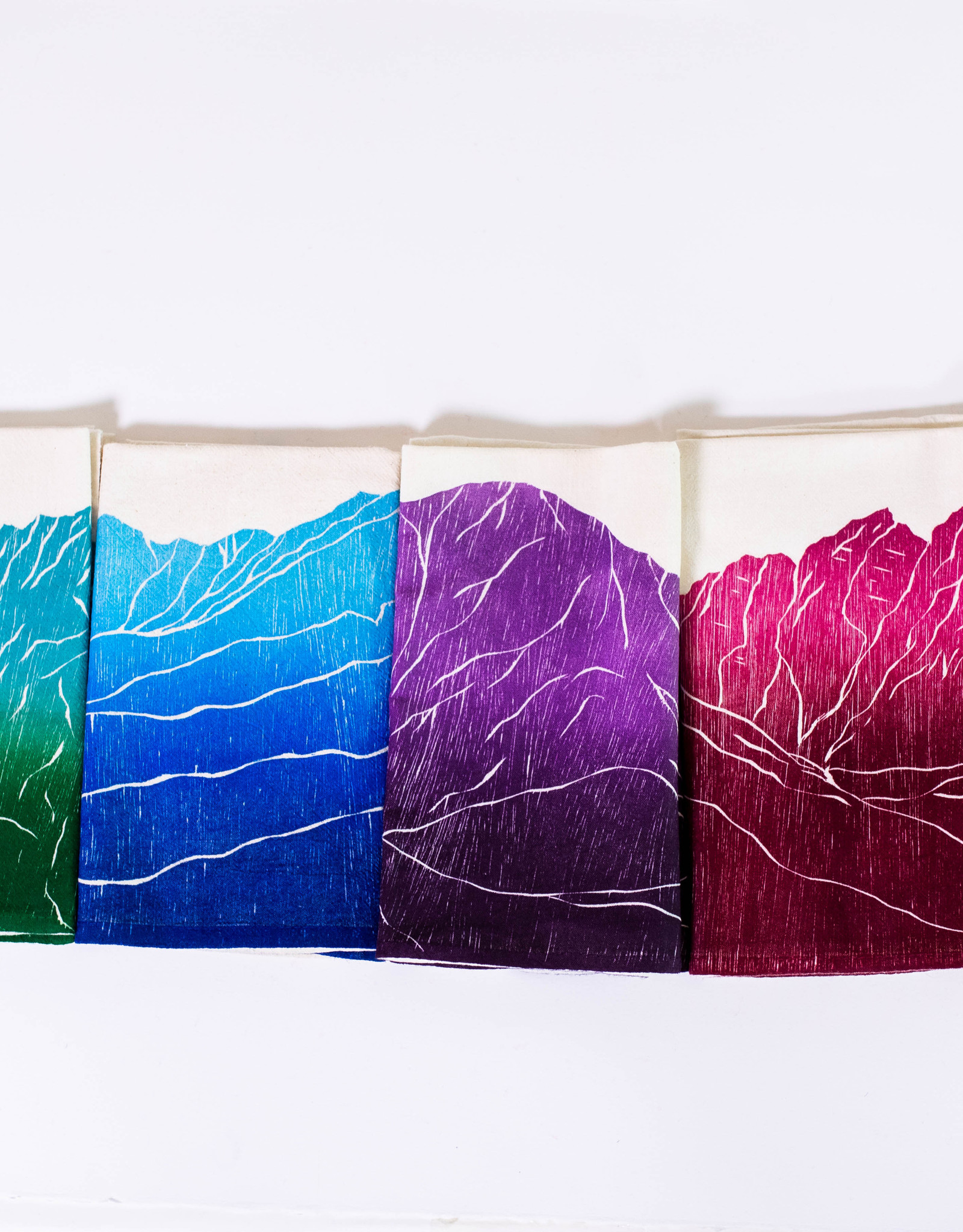"Jen Ghormley Tea Towels ""Red Rocks Amphitheatre"""
