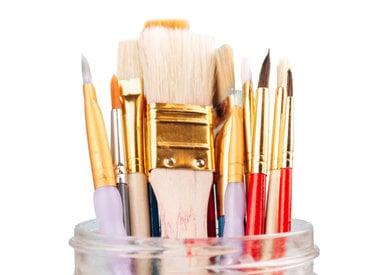 Glazing Brushes & Tools