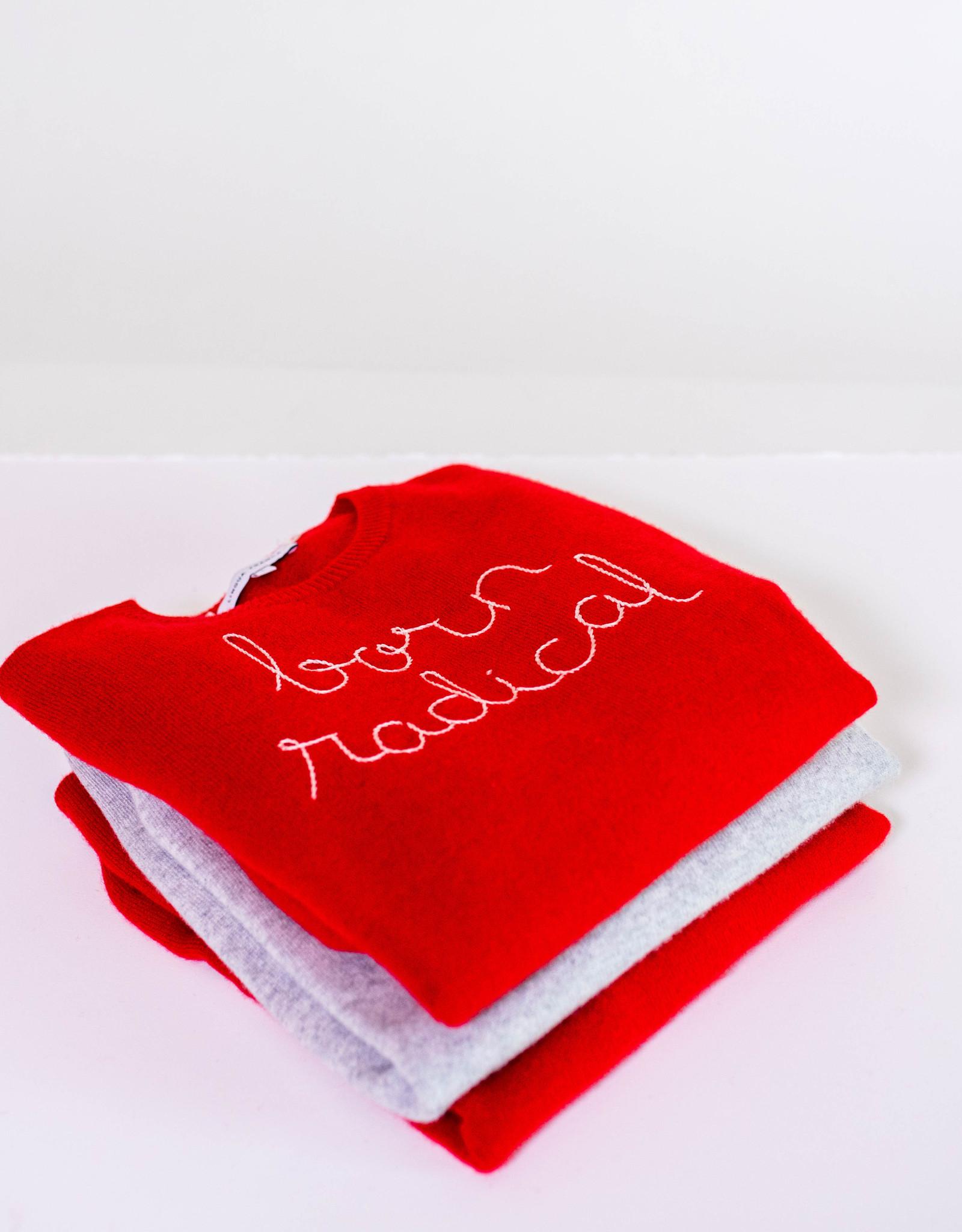 Lingua Franca Cashmere Sweater
