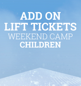 Snow School Snow School 3-Day CHILDREN Weekend Camp Add-On Lift Tickets