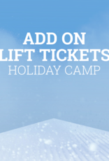 Snow School Snow School Holiday Camp Add-On Lift Tickets