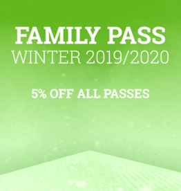 Sima Winter Season Family Passes - 5% Off all pass products purchased for same family - Add this item to your cart, then use Code FP2019 at Checkout