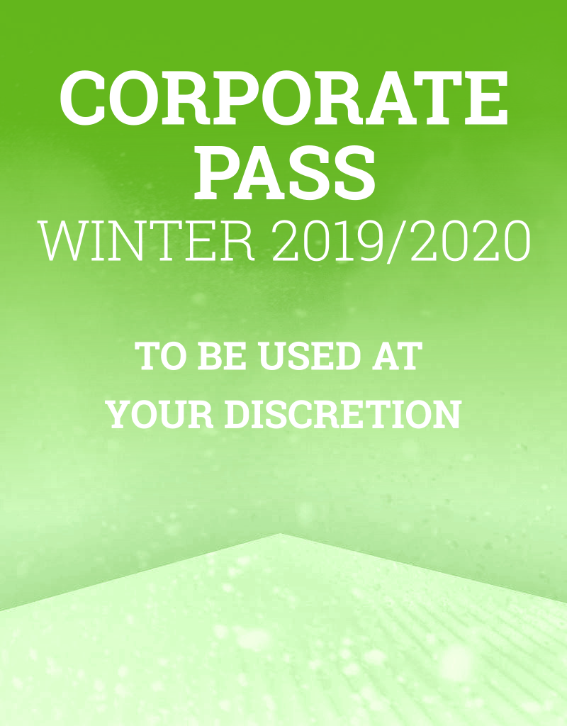 Sima Winter Season Pass, Corporate Pass