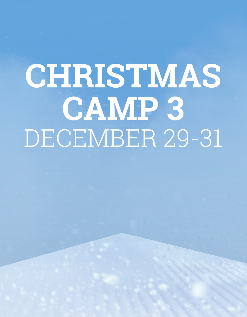 Snow School Christmas Camp 3 - December 29-31