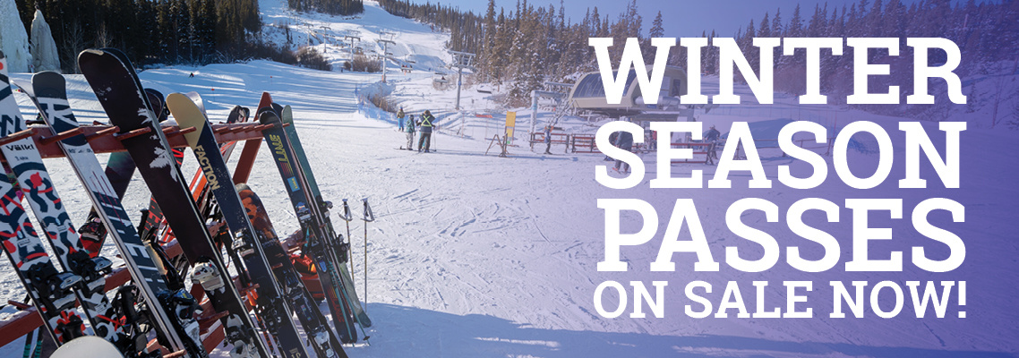 Winter Season Passes on sale now!