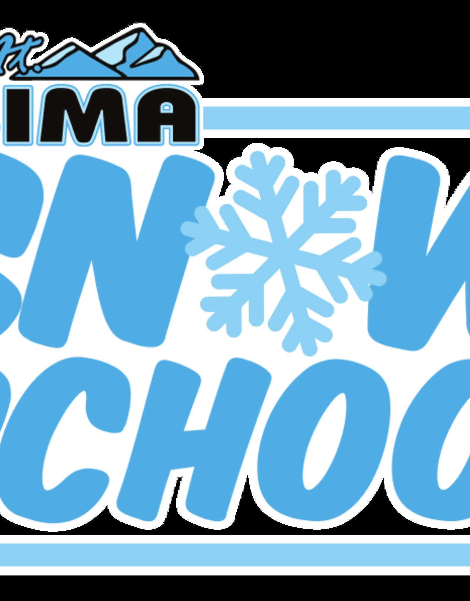Snow School Christmas Camp 2 - December 28-31