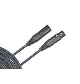 D'Addario Planet Waves PLANET WAVES, PW-CMIC-25 XLR MALE TO XLR FEMALE MICROPHONE CABLE, 25'
