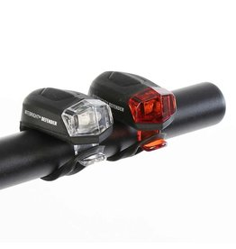 Evo EVO, NITELIGHT DEFENDER LIGHT SET, BLACK