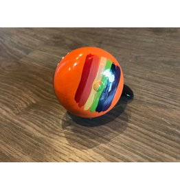 ORANGE RAINBOW HAND PAINTED BELL (60MM)