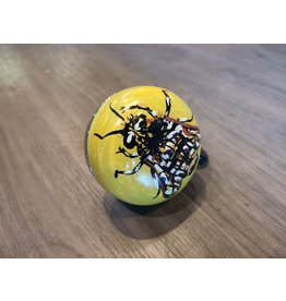 BUSY BEE HAND PAINTED BELL (60MM)