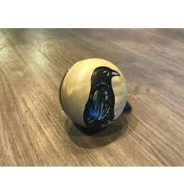 RAVEN HAND PAINTED BELL (60MM)