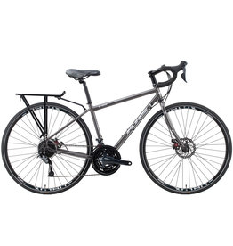 KHS KHS TR-101 GRAY 2019 Touring Bike M/55CM
