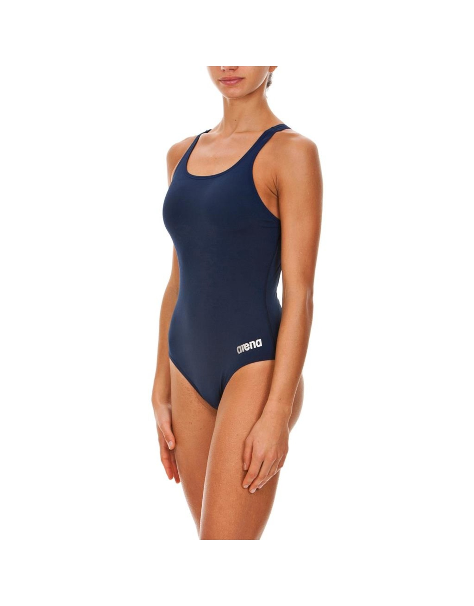 ARENA ARENA SOLID POLYESTER MADISON SWIM PRO BACK