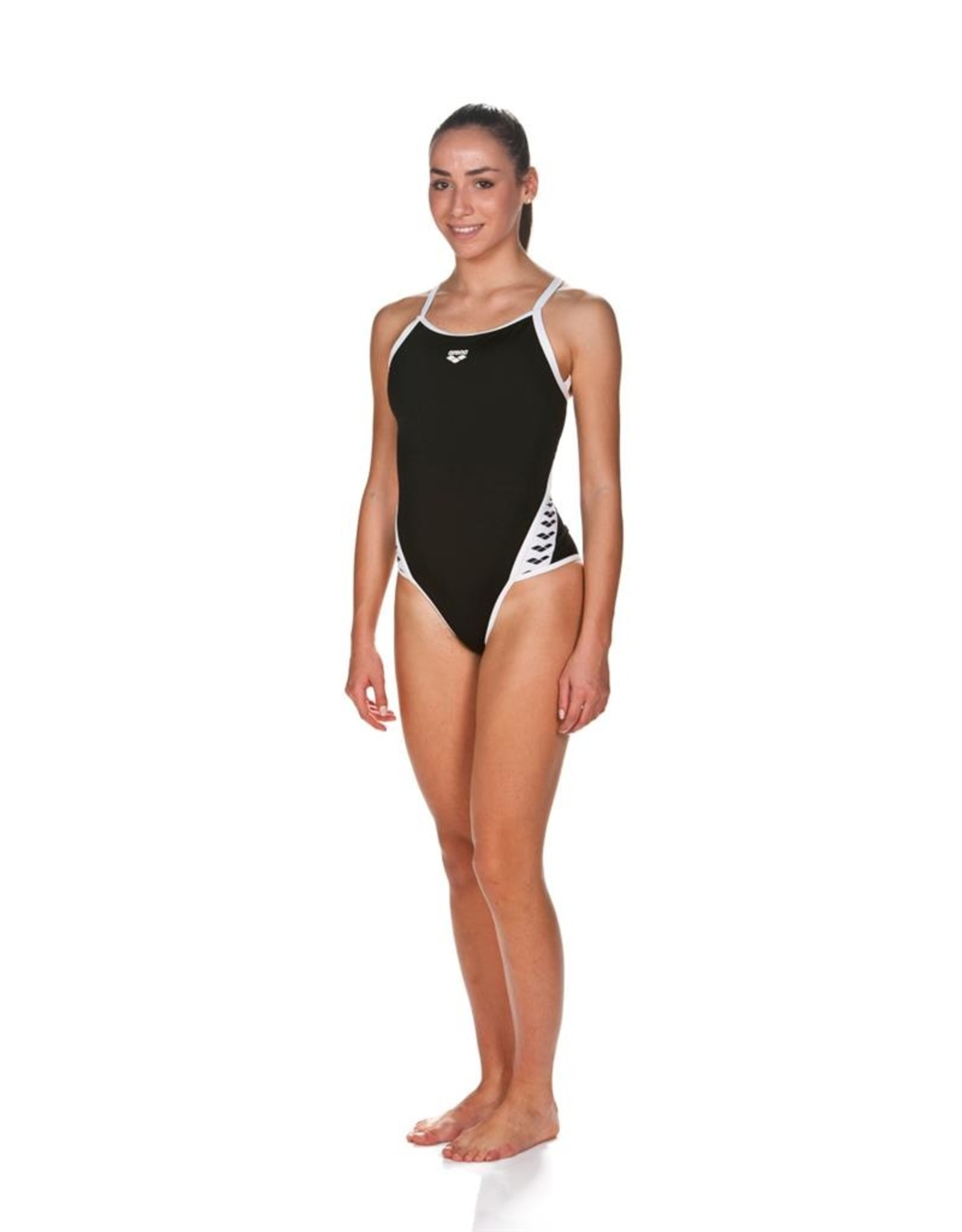 ARENA ARENA TEAM STRIPE SUPER FLY BACK ONE PIECE