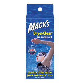 MACK'S DRY-N-CLEAR EAR DRYING