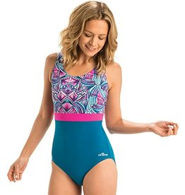 DOLFIN DOLFIN MODERATE SCOOP BACK COLOR BLOCK