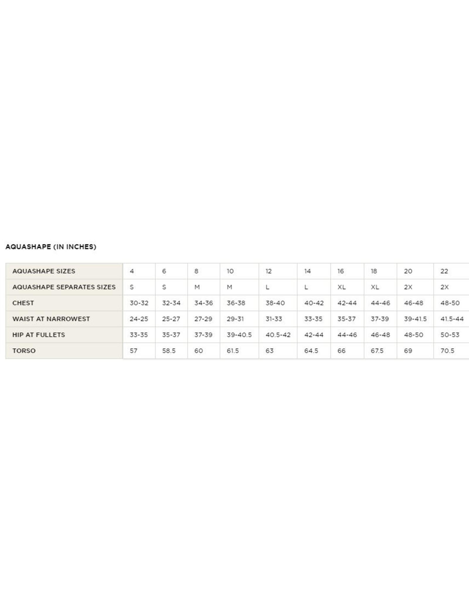 DOLFIN DOLFIN ZIP-FRONT RACERBACK PRINT SUIT