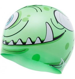 TYR TYR MONSTER GREEN SILICONE CAP
