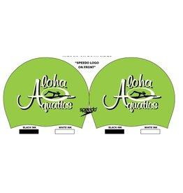 ALOHA AQUATICS TEAM CAP W/ NAME