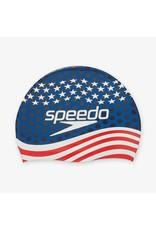 SPEEDO SPEEDO SILICONE PRINTED CAP