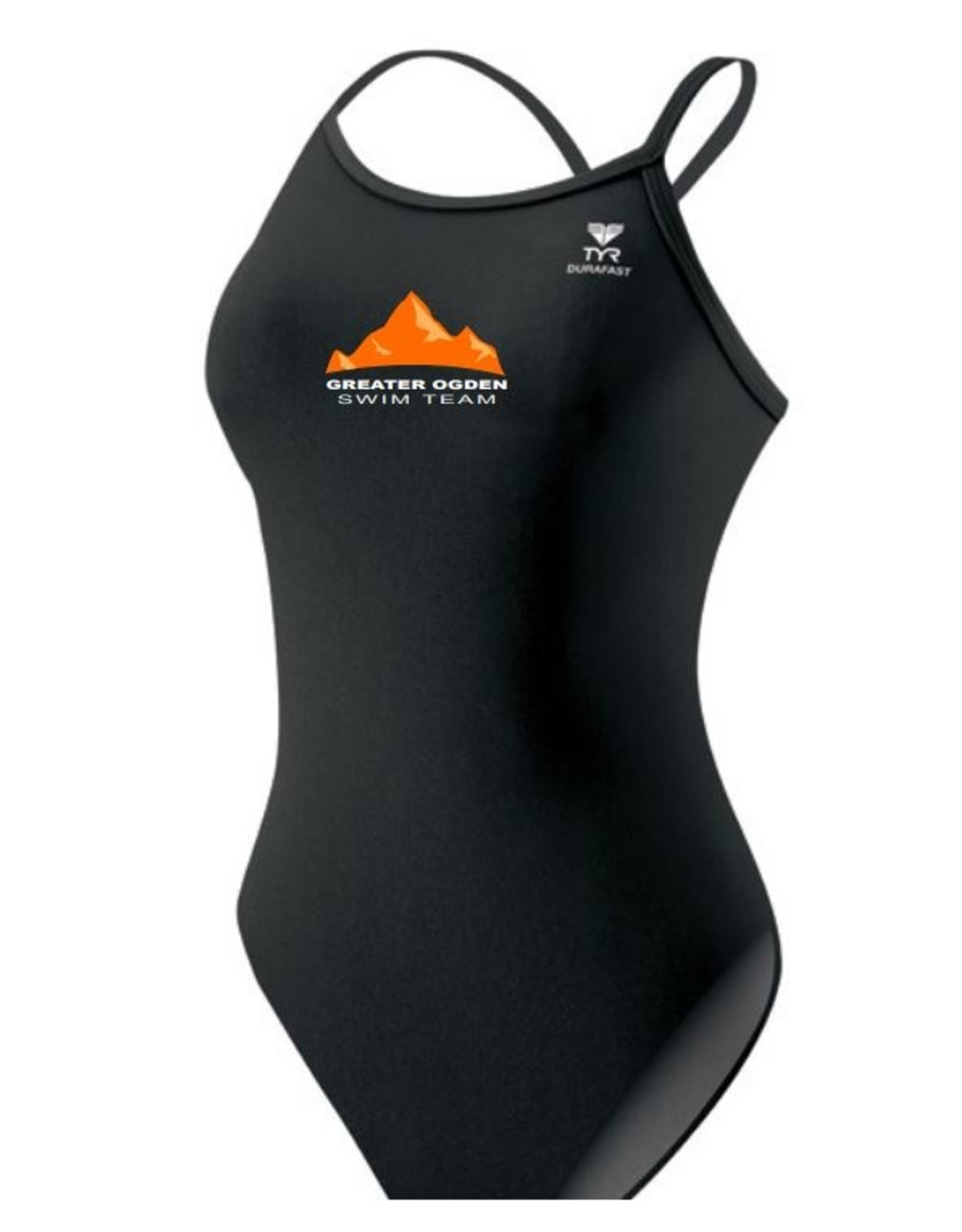 TYR DURAFAST ONE SOLID CUTOUTFIT + GREATER OGDEN LOGO