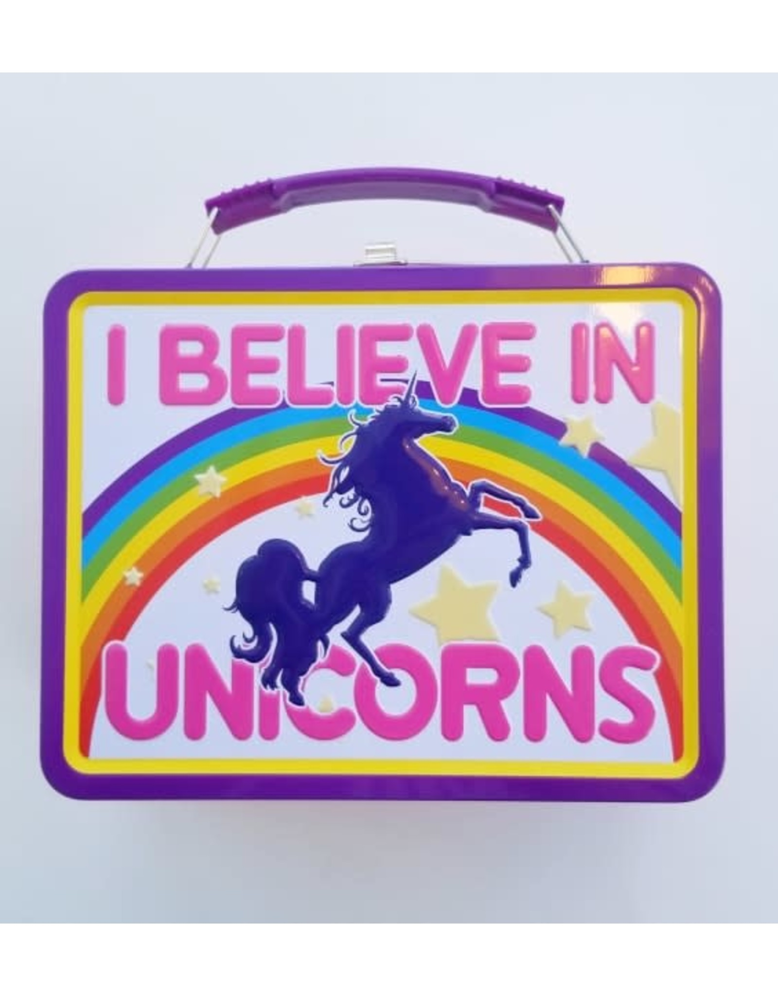 La Licornerie  I Believe in Unicorns Metal Lunch Box