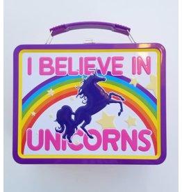 La Licornerie I Believe in Unicorns Metal Lunch Box