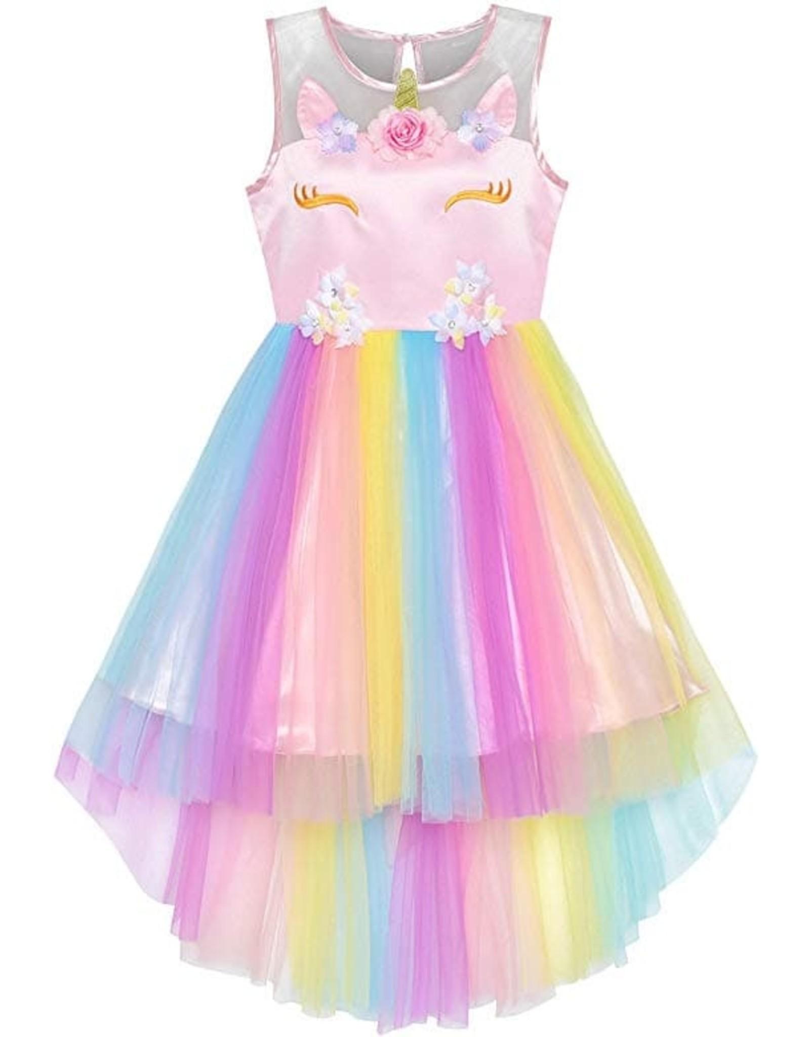 La Licornerie Robe licorne princesse tulle 4 ans