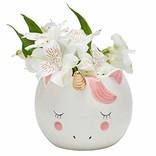 La Licornerie Sleepy unicorn Plant pot  - mug