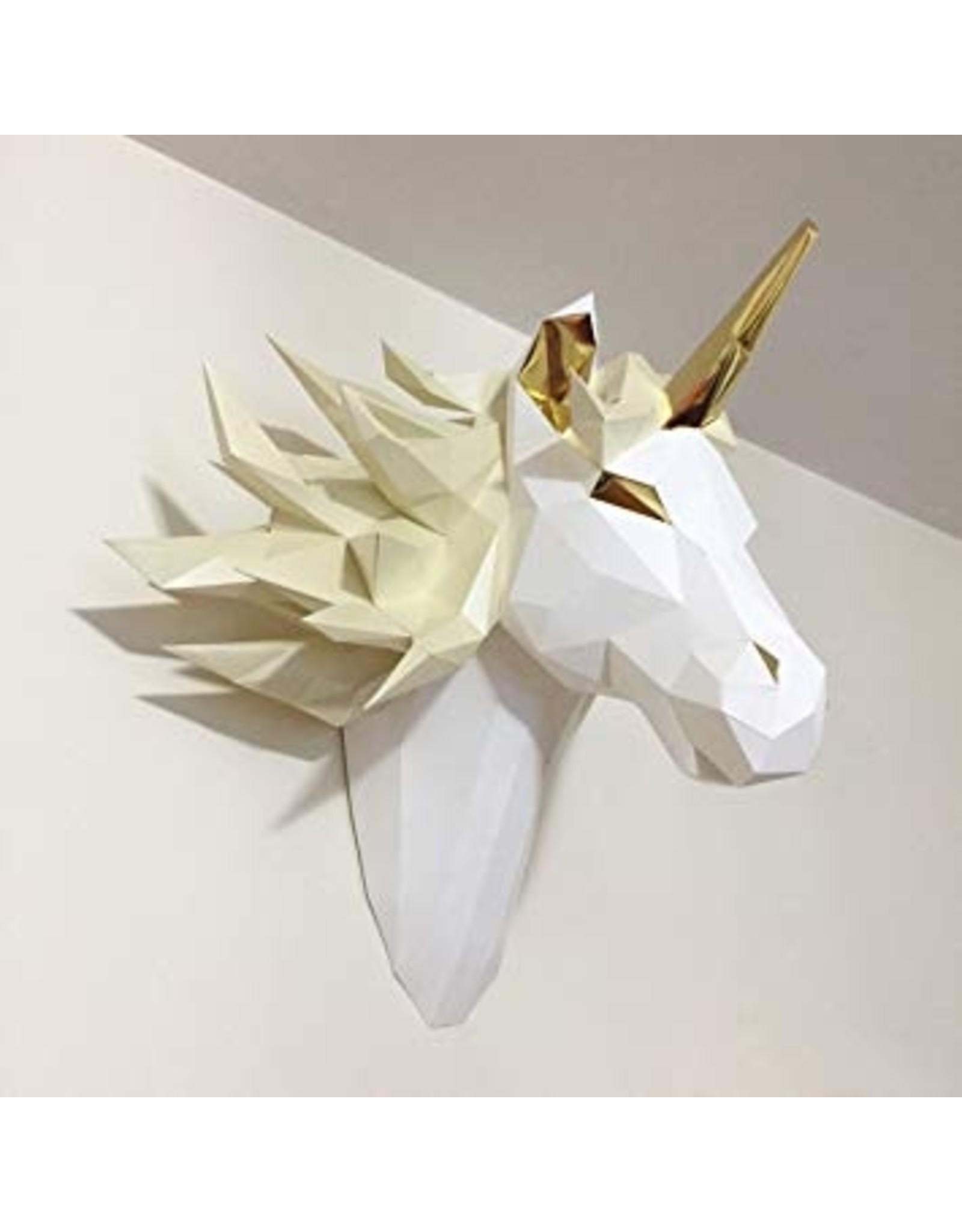La Licornerie ♥♥ Origami tête licorne Esprit mystique D.I.Y