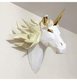Tête de licorne Origami Esprit mystique D.I.Y