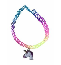 Top Trenz Collier tattoo emoji licorne