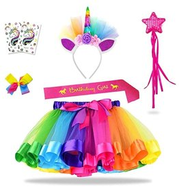 La Licornerie Tutu-hairbow-magic wand & tatoo Birthday Kit