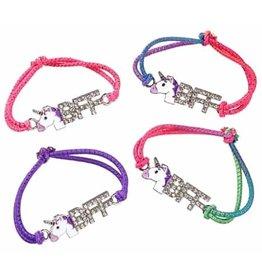 Bracelet meilleurs amis élastique Unicorn