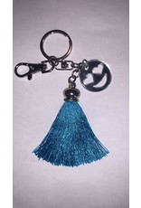 La Licornerie Tassel and Emoji Keychain