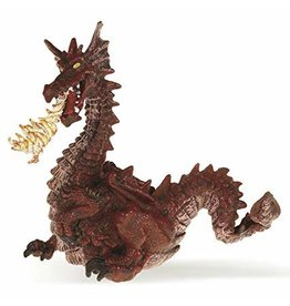 La Licornerie Figurine Dragon rouge